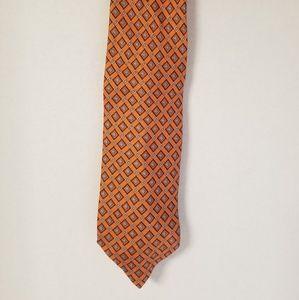 Jo's A. Bank orange necktie men's tie